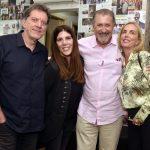 Léo Gandelman, Flavia Franchi, Mauro Marcondes e Beverly Hills