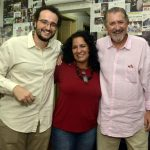 Lucas Gralato, Thelma Tavares e Mauro Marcondes