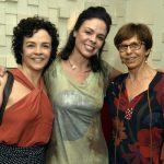 Luciana Braga, Suzana Nascimento e Stella Freitas