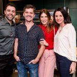 Marcio Marques, Ricardo Mello, Claudia Souza Santos e Vera Rebello