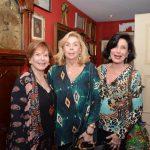 Marly Garcia, Patricia Medeiros e Carmen Silvia Peltier