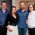 Nicolas Delfino, Rosa Tavares, Marcelo Dadoorian e Gisele Taranto