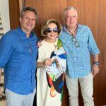 Paulo, Regina, Chicô e o foulard de seda