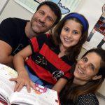 Pedro, Ana Beatriz e Tatiana Barroso