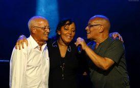 Evinha recebe os Golden Boys, no show de lançamento de seu novo disco