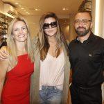 Silvia Goncalves, Christiane Oliveira e Arthur Goncalves
