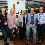 Solange Trevisan, Sergio Fonta, Teresa Cristina Meireles e Carlos Barbosa