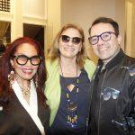 Tania Caldas, Elianne Mezavilla e Gustavo Goncalves