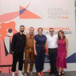 Vitorino Campos, Claudio Silveira, Ana Claudia Martins, Mario Queiroz e Leana Braga