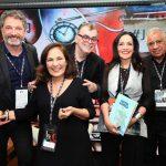 Volnei Canônica, Jacyra Lucas, Walcyr Carrasco, Liliana Rodriguez e Rui Oliveria