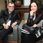 Walcyr Carrasco e Lililiana Rodriguez