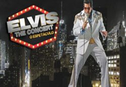 Elvis The Concert se apresenta no Teatro VillageMall