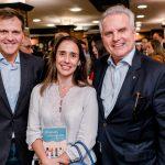 Alexandre Carvalho, Fernanda Tortima e Jose Arthur Diniz