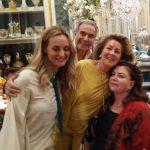 Beth e Carlos Alberto Serpa com Belita Tamoyo e Mônica Faria