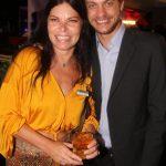 Christiane Mueller e Hayan Barros