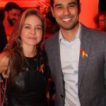 Denise Barcelos e Cyro Hirano