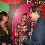 Edson Celulari, Mariana Ximenes e Christiane Torloni