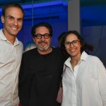 Fernando Costa, Celso Rayol e Gisele Taranto