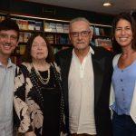 Filipe Maciel, Nélida Piñon, Jorge Salomão e Rita Capell
