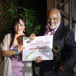 Genilson Araujo recebe prêmio