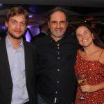 Hayan Barros, Guilherme Bocchino e Mariana Jucá