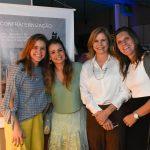 Maria Teresa, Maria Fernanda , Maria de Loudes Baggio e Flavia Martins