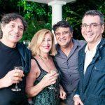 Mario Fante, Anita Brunello, Eduardo Soares e Mauro Saraiva