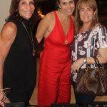 Mary Pucheu, Claudia Dultra e Leila Gregory .