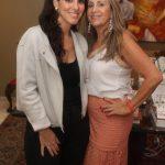 Patricia Casz e Regina Saade