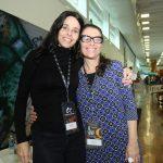 Paula Fiuza e Simone Ruiz