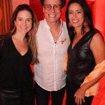 Prisicila Verdini, Carlinhos de Jesus e Aline Pacheco