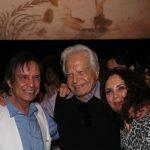 Roberto Carlos, Cid Moreira e esposa