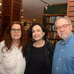 Rosa Dias, Maria Lúcia Rangel e Sergio Augusto