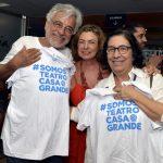 Aderbal Freire Filho , Rosa Maria Araújo e Regina Zappa