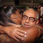 Adriana Bombom e Presidente de Honra da Grande Rio Jayder Soares