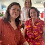 Ana Lucia Quintaes, Beth Corrêa e Ina Chermont