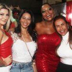 Antonia Fontenelle, Tatiana Oliveira, Adriana Bombom e Simone Oliveira