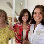 Baby Vignolli, Regina Pinto e Laurinha Simões