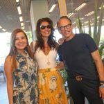 Camila Salgueira, Patricia Brandão e Heckel Verri