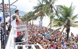 """Desfile do """"Chame Gente"""" antecipa o Carnaval carioca"""