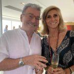 Edney Silvestre e Maria do Carmo Lacombe