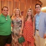 Frederico Garschagen, Kika Macedo, Danielle Guimarães e Netto Moreira