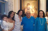 Boa conversa e amigos fiéis no réveillon de Beth e Carlos Alberto Serpa