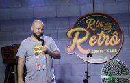 """""""Rio Retrô Comedy Club"""" traz comediantes de sucesso para o Rio"""