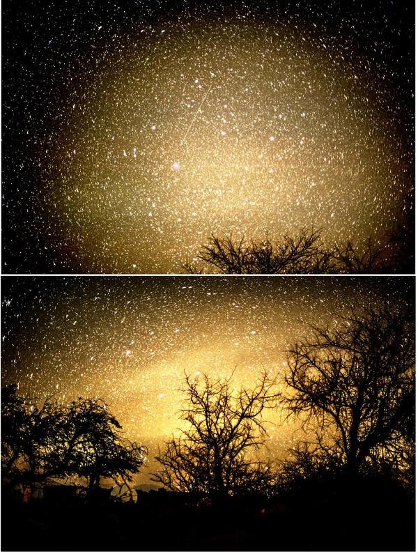 starry nights yellow
