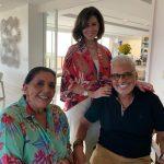 Leda Nagle, Regina Pinto e Ricardo Bruno