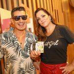 Marcelo Hicho e Maria Fernanda Mamede