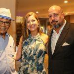 Monarco, Camila Salgueiro e Michael Nagy