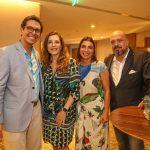 Netto Moreira, Andrea Repsold, Adriana Moreira e Michael Nagy