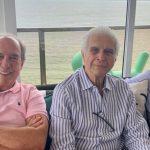 Paulo Simões, Carlos Alberto Protazio e Eduardo Chermont de Miranda
